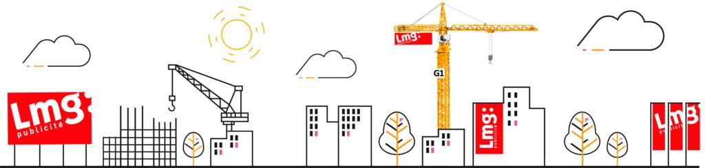 petit éventail des projets possible de LMG publicité