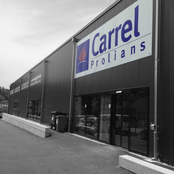 Signalétique architecturale Carrel Prolians