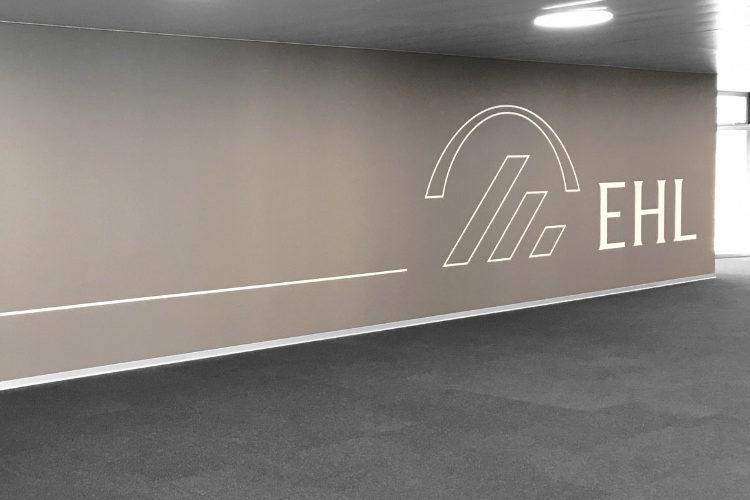 Signalétique architecturale l'entreprise EHL